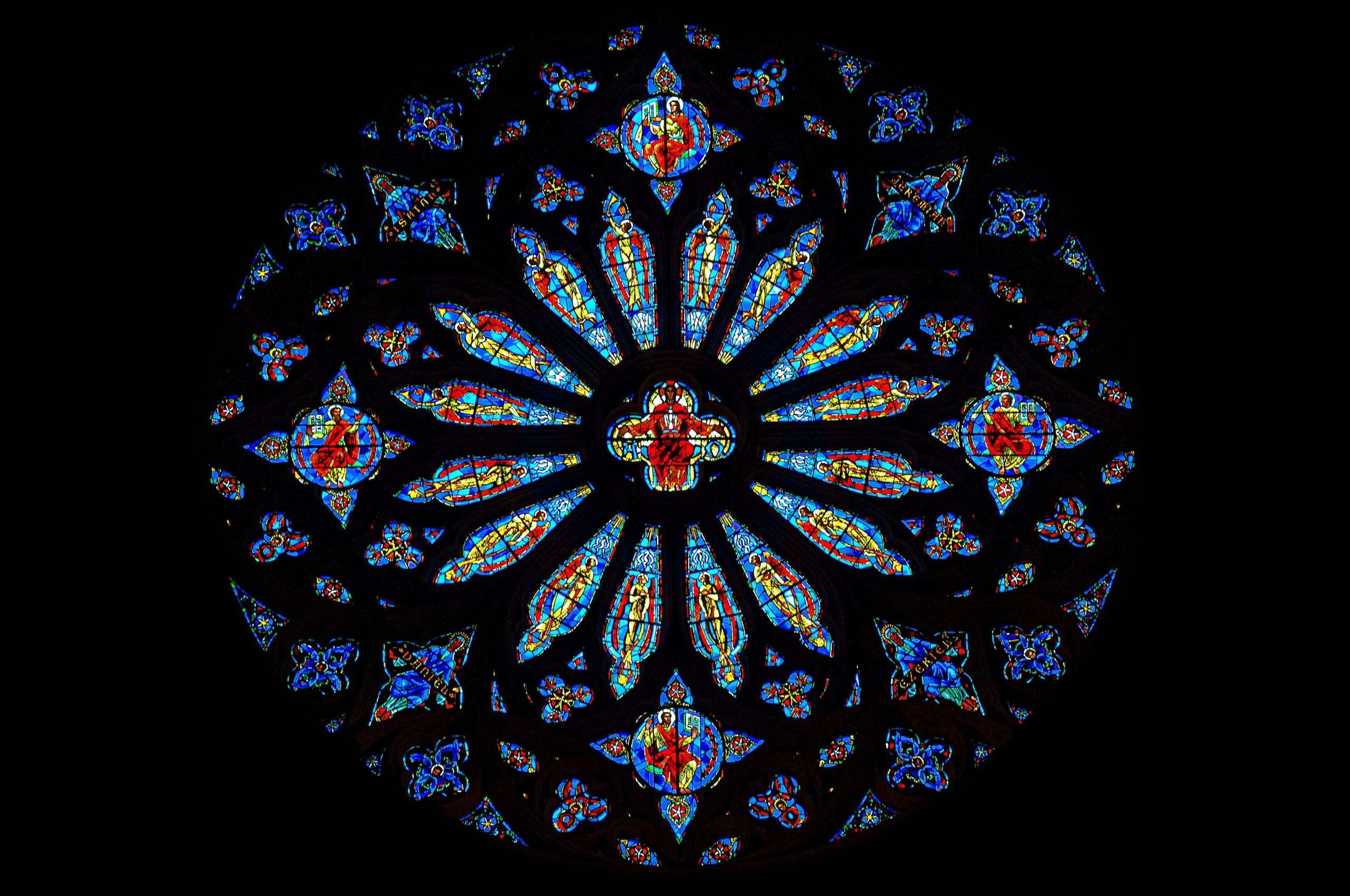 La cupola a vetri decorati