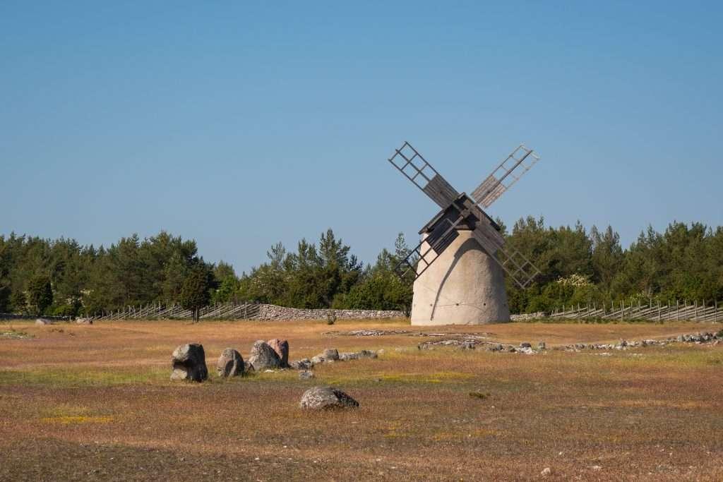 Un mulino a vento d'altri tempi